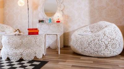 Hand Crochetted FurnitureHand Crochetted Furniture | La Crochette